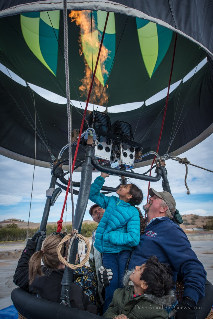 Hot Air Balloon Festival, Mesquite, Nev., Jan. 25, 2014   Photo by Dave Amodt, St. George News