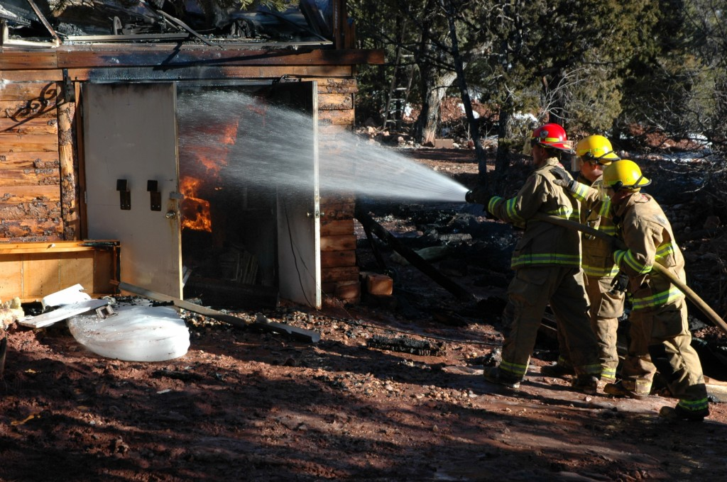 Fire Destroys Home In Rural Iron County St George News