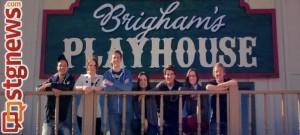 Behind the scenes of Brigham's Playhouse, Washington City, Utah, 2013 | Photo courtesy of Kylee Ogzewalla