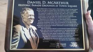 Plaque presented to Mayor Dan McArthur, St. George, Utah, Jan. 2., 2014 | Photo by Mori Kessler, St. George News