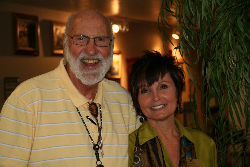 Patrick Sapio and Kathy McKean, teachers, St. George area, Utah, date not provided   Photo courtesy of Alzheimer's and Dementia Society, St. George News