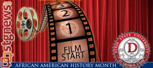 JAN 27 A.M. EARLY  Film Series in Celebration of African American History Month -- 01_24_14 FOR IMMEDIATE RELEASE