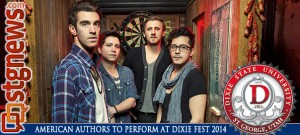 JAN 31 American Authors link to CityCouncil story Uprising Paint Fight  Dixie Fest 2014 March 7th -- 01_28_14 FOR IMMEDIATE RELEASE