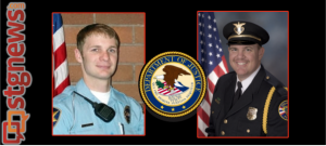 St. George Police Det. Jordan Minnick (left) and Cedar City Police Det. Mike Bleak, location and date unknown | Photos courtesy of the St. George and Cedar City Police Departments