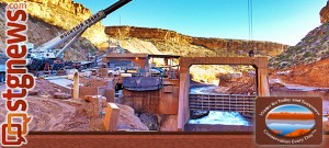 Water-Conservancy-replaces-dam-gate
