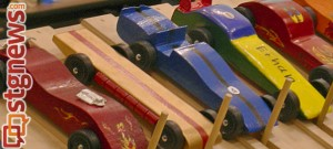 boy scout pinewood derby