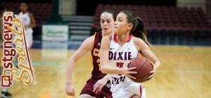DSU's Kaylah Miller, Azusa Pacific at Dixie State, St. George Utah, Jan. 11, 2014 | Photo courtesy DSU Athletics