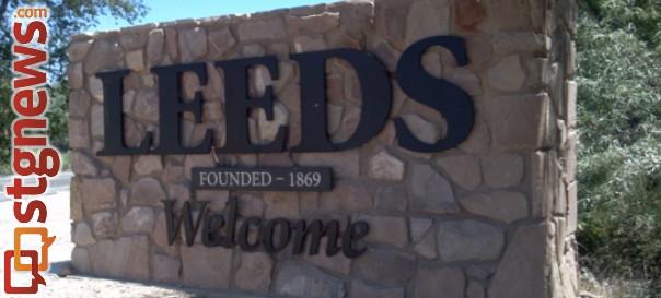 Welcome monument, Leeds, Utah, June 19, 2012 | Photo by Joyce Kuzmanic, St. George News