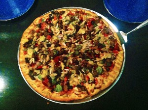 Freshly made pizza at Roy's,1013 E., 700 S., St. George Utah | Photo courtesy of Nolan Crouch, St. George News