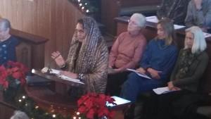 Salee Amina, ambassador of goodwill for Islamic culture, St. George, Utah, Jan. 1, 2014   photo by Mori Kessler, St. George News