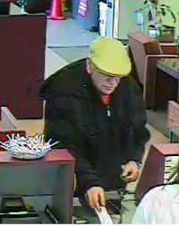 Photograph of Wells Fargo bank robbery suspect, Cedar City, Utah, Jan. 4, 2014 | Photograph courtesy of Cedar City Police Department