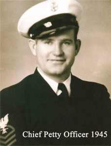 Chief Petty Officer Lee Warren 1945  | Photo courtesy of ourlocalveterans.com, St. George News