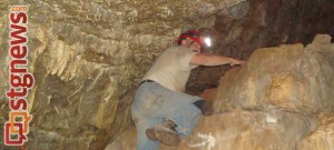John Teas in the Bloomington Cave, Washington County, Utah, July 1, 2011 | Photo by John Teas, St. George News