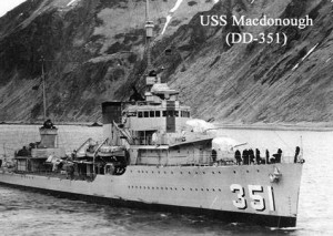 Lee Warren was assigned to the USS Macdonough (DD-351) at Pearl Harbor after finishing Boot Camp in San Diego, Calif. | Photo courtesy of ourlocalveterans.com, St. George News