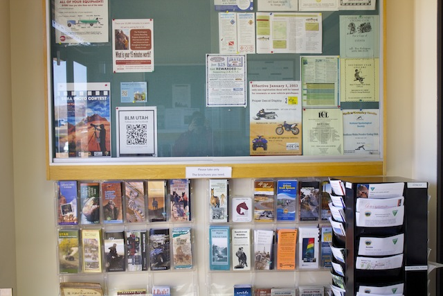D/ASIA offers a wide variety of free brochures on a myriad of different topics, St. George, Utah, Feb. 22, 2013   Photo by Rhonda Tommer, St. George News