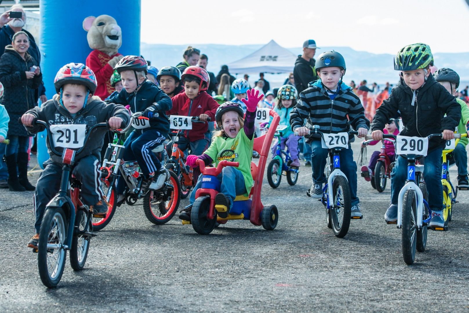 Tuff Kids Criterion Race, St. George, Utah, Feb. 1, 2014 | Photo by Dave Amodt, St. George News