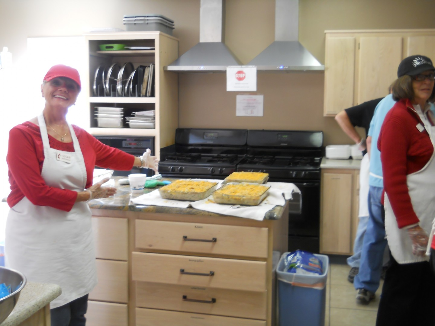 Volunteers at the community soup kitchen at The Grace Episcopal Church, St. George, Utah, Feb. 14, 2013 | Photo by Aspen Stoddard, St. George News