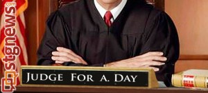 FEB 7  State Courts Plan Judge for a Day Program