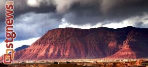 Red Mountain, Ivins area, Utah, undated | Photo by John Teas, St. George News