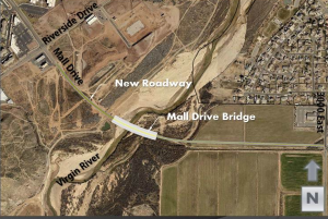 Mall Drive Bridge project rendering | Image courtesy of the City of St. George, St. George News