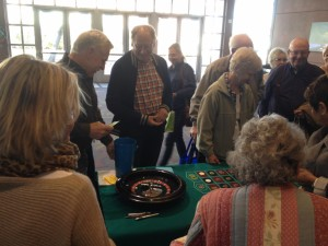 The roulette table at the Senior Connection Expo at the Dixie Center, St. George City, Utah, Feb. 4, 2014 | Photo by Scott Heinecke, St. George News