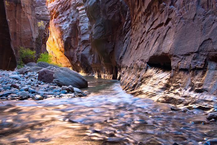 Zion Narrows, Utah, Nov. 12, 2012   Photo courtesy of Seth Hamel