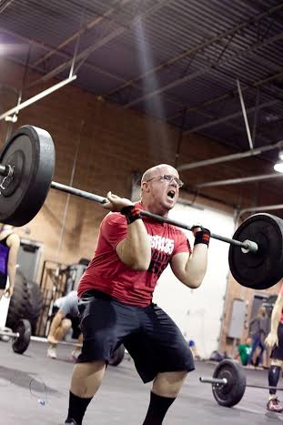 Luke Robinson lifts at CrossFit 435, Hurricane, Utah, Nov. 23, 2013   Photo by and courtesy of Susannah Stout, St. George News