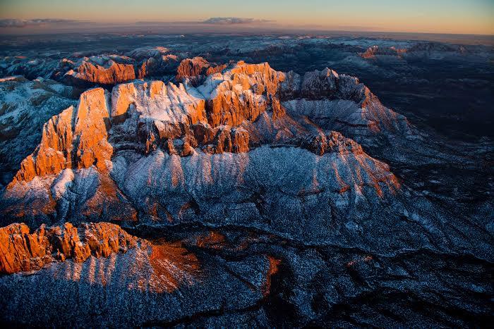 West Temple, Zion National Park, Utah, Feb. 1, 2014   Photo courtesy of Seth Hamel
