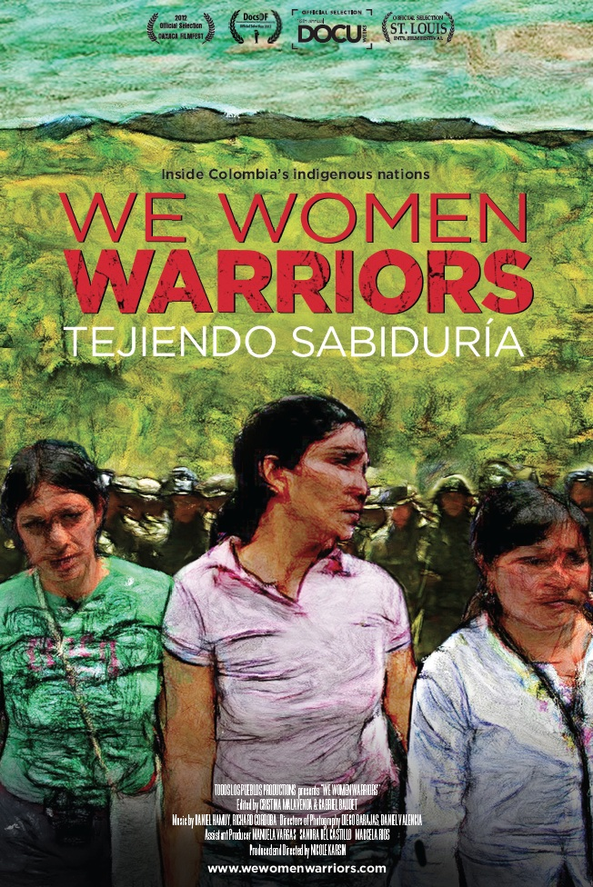 """We Women Warriors"" film poster 2014 