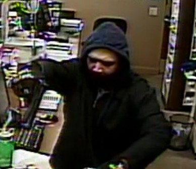 Image of suspect involved in armed robbery in Hurricane, Utah, March 31, 2014 | Photo courtesy of the Hurricane City Police Department, St. George News
