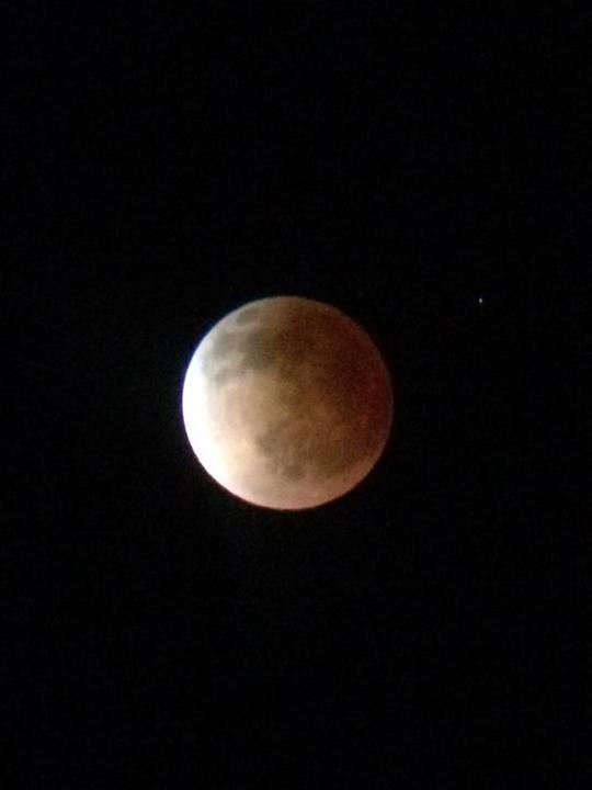 """Blood moon,"" St. George, Utah, April 15, 2014 