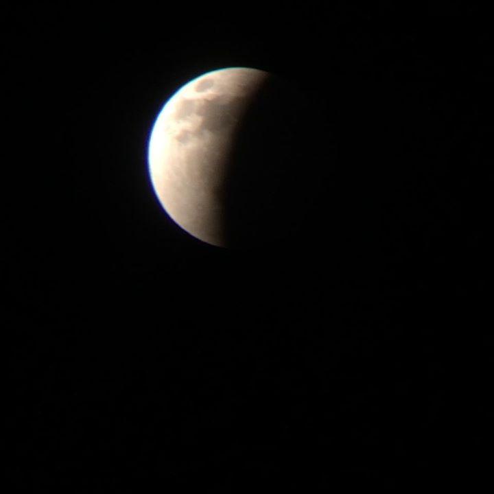 """Blood moon,"" St. George, Utah, April 15, 2014 | Photo courtesy of Kristen Bruton"