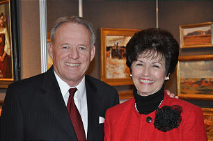 Dixie State University President Dr. Stephen Nadauld and Margaret Nadauld | Photo courtesy of the Southern Utah Heritage Choir, St. George News
