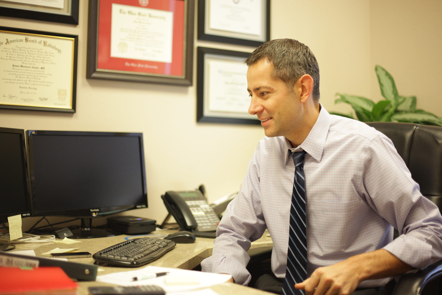 Dr. Jim Clarke, Gamma West Cancer Services, St. George, Utah, 2014 | Photo courtesy of Gamma West, St. George News