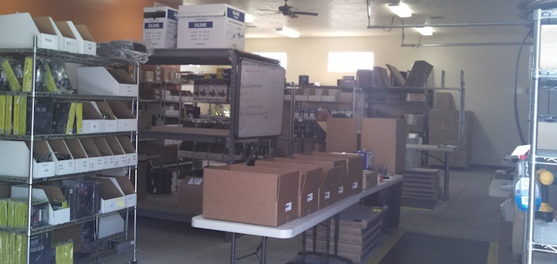 Powerful Signal has a well-stocked warehouse to provide products to their customers, Hurricane, Utah, April 18, 2014 | Photo by Rhonda Tommer, St. George News