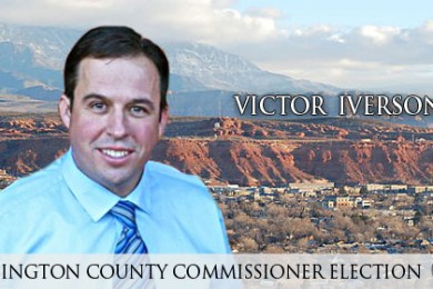 Victor Iverson, candidate for Washington County Commissioner, St. George, Utah, April 9, 2014 | Photo courtesy of Victor Iverson, St. George News