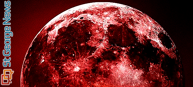 time for blood red moon tonight - photo #36