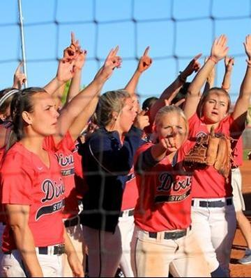 DSU softball.   Photo courtesy DSU Athletics