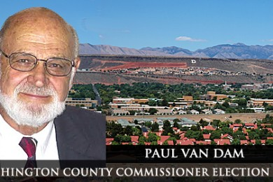 Paul Van Dam is running for County Commission Seat B out of the Democratic Party.