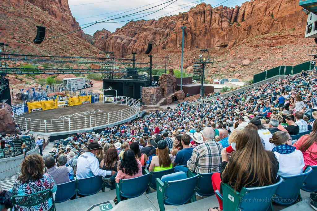 Professional Bull Riders Deliver Big Thrills At Tuacahn