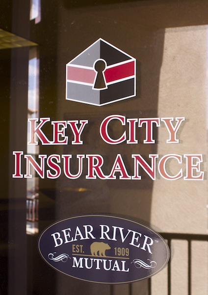 Key City Insurance, located at 393 Riverside Dr., St. George, Utah, May 6, 2014 | Photo by Rhonda Tommer
