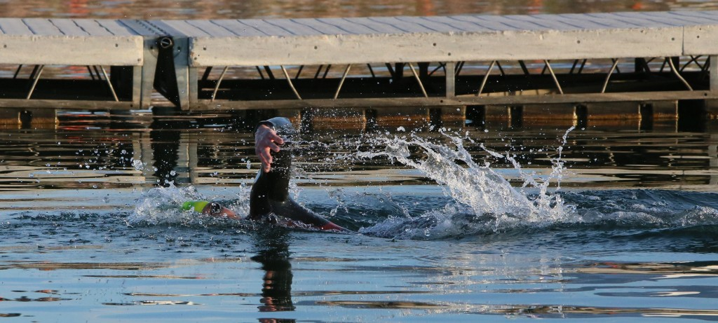 Smooth swimming for ironman 70 3 competitors at sand hollow stgnews photo gallery st george news for Sand hollow swimming pool st george