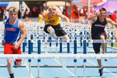 State 3A track meet, Provo Utah, May 17, 2014 | Photo by Shane Marshall, special for St. George News
