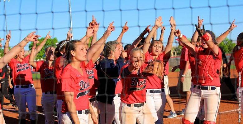 DSU softball is hosting the regionals. | Photo courtesy DSU Athletics