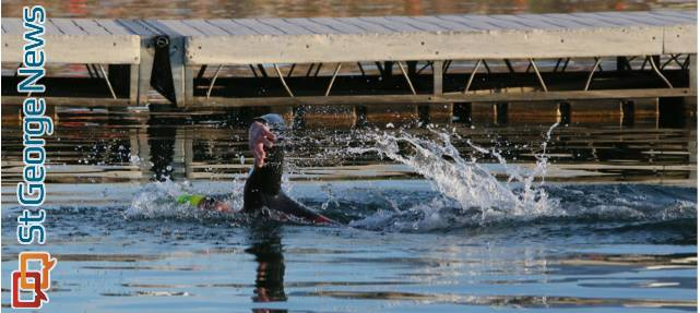 Ready set tri multi sport multi distance races held at sand hollow st george news for Sand hollow swimming pool st george