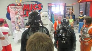Lord Vader and his entourage, St. George, Utah, May 3, 2014 | Photo by Mori Kessler, St. George News