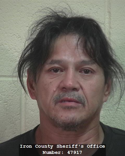 Gerald Wayne Santos, Cedar City, Utah, booking photo posted June 8, 2014 | Photo courtesy of Iron County Sheriff's Office, St. George News