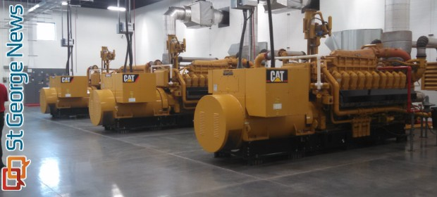 City holds open house for new power generation plant St George News