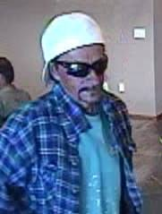 Image still from surveillance footage of a man suspected of robbing the Mountain America Credit Union on River Road, St. George, Utah, July 3, 2014 | Photo courtesy of the St. George Police Department, St. George News