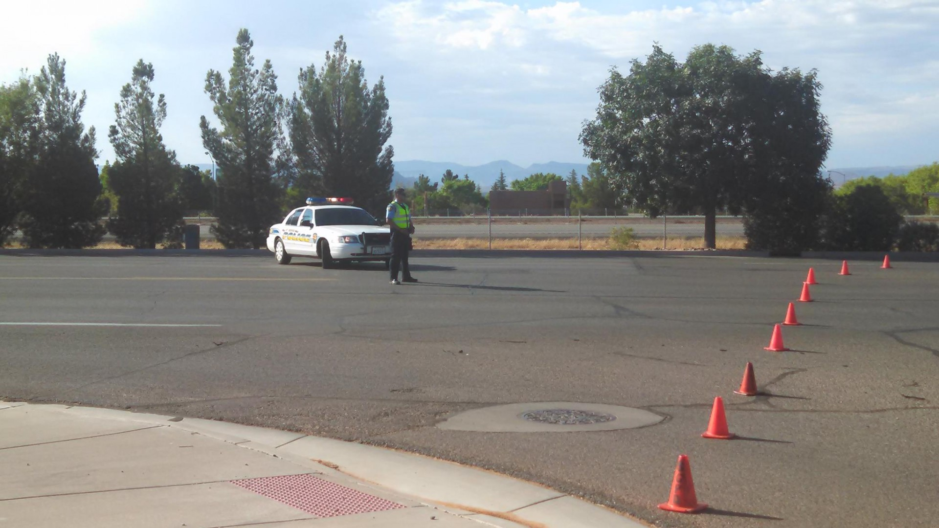 Jogger taken to hospital after being hit by truck cedar for Parkway motors cedar city
